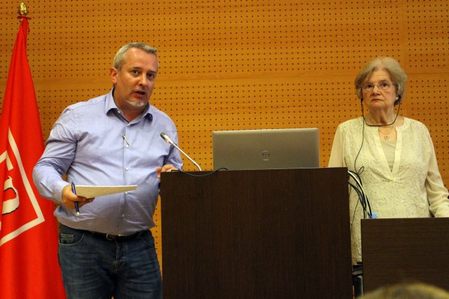 Dra. Joyce Van-Tassel Baska y Dr. Antoni Castelló (2)