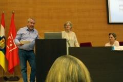 Dra. Joyce Van-Tassel Baska, Dr. Antoni Castelló y Dra. Sylvia Sastre i Riba