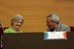 Dra. Joyce Van-Tassel Baska y Dr. Antoni Castelló