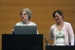 Dra. Joyce Van-Tassel Baska y Dra. Sylvia Sastre i Riba 2