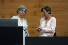 Dra. Joyce Van-Tassel Baska y Dra. Sylvia Sastre i Riba
